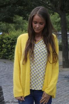 Gilet Nora jaune