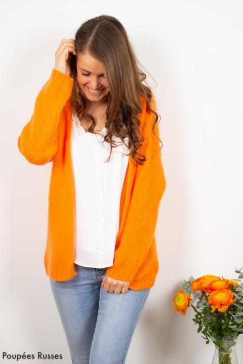 Gilet Nora Orange clair