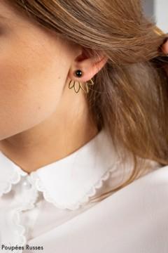 Boucles d'oreilles Lalie