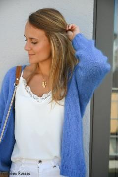 Gilet Nora bleu