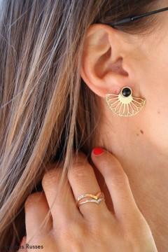 Boucles d'oreilles Lison