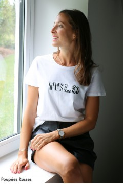 T-shirt WILD blanc