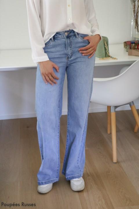 Jeans droit large