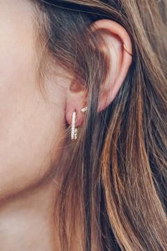 Boucles d'oreilles ovales