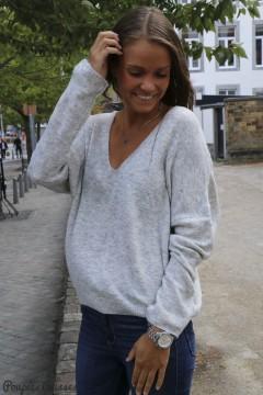 Pull Louisa gris clair